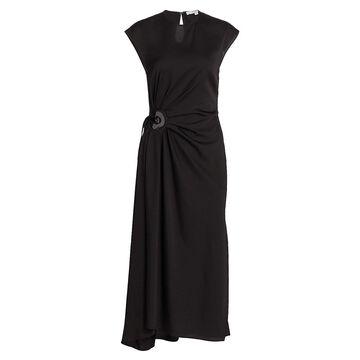 Derek Lam 10 Crosby Alba Keyhole Midi Dress
