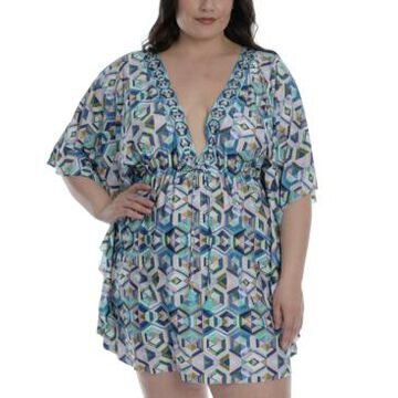 La Blanca Plus Size Riviera Renewal Tunic Cover-Up Women's Swimsuit
