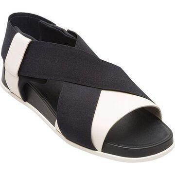 Camper Women's Atonik Sandal Black/White Multi Smooth Leather