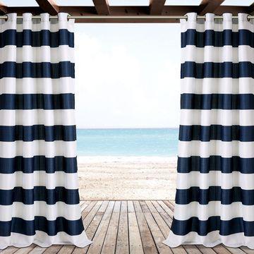 Lush Decor Stripe Curtain Panel