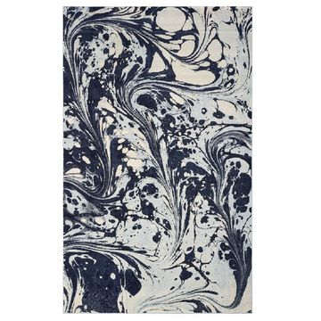 KAS Rugs Watercolors Marble Rug