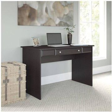 Bush Furniture Cabot Collection 48W Writing Desk, Espresso Oak