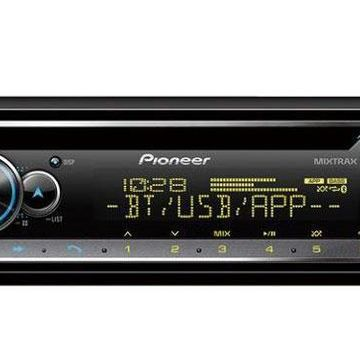 Pioneer Single DIN Receiver With Bluetooth