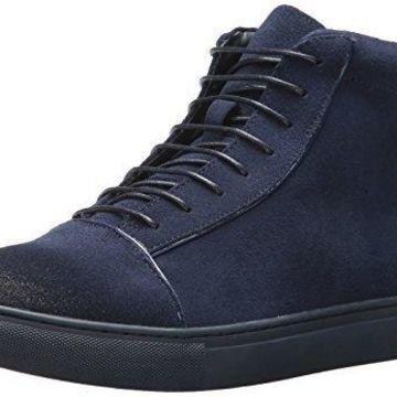 English Laundry Men's Grundy Fashion Sneaker, Navy, 10 M US