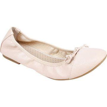 Rialto Women's Sunnyside II Ballet Flat Bone Smooth Nappa Polyurethane