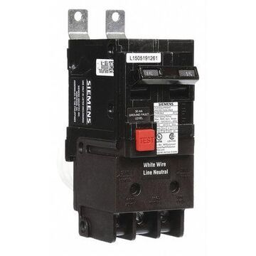 15 A Bolt On Ground Fault Equipment Protection 120/240V AC Not Rated