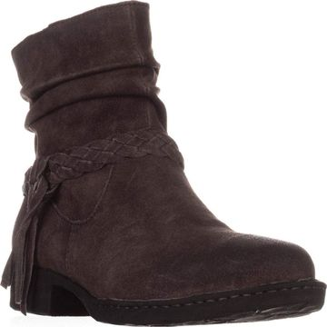 Born Womens Abernath Leather Closed Toe Ankle Fashion Boots