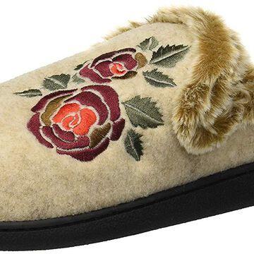 Dearfoams Womens Com 50913 Closed Toe Slip On