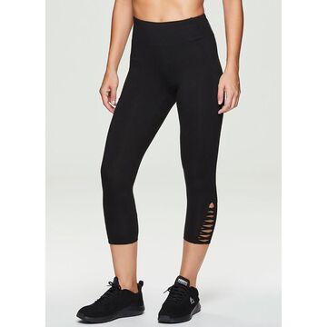 Womens RBX Strappy Capri Leggings