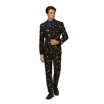 OppoSuits Men's Fancy Fireworks Christmas Suit