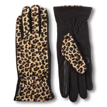 Women's isotoner SmartDRI Fleece Lined Gathered Gloves