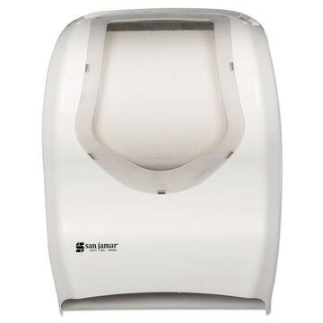 San Jamar Smart System with iQ Sensor Towel Dispenser 16 1/2 x 9 3/4 x 12 White
