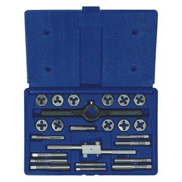 Irwin Steel Fractional Tap and Hex Die Set 24 Count