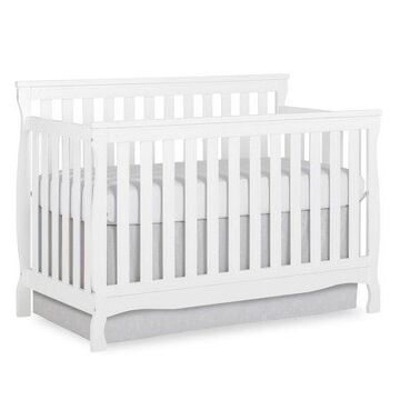 Dream On Me Keyport 5-in-1 Convertible Crib, White