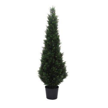 Artificial Potted Cedar Tree (UV) () - Vickerman