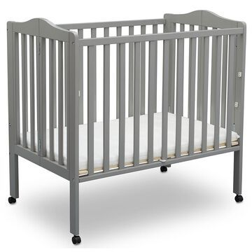Delta Children Portable Crib with Mattress (Choose Your Color)