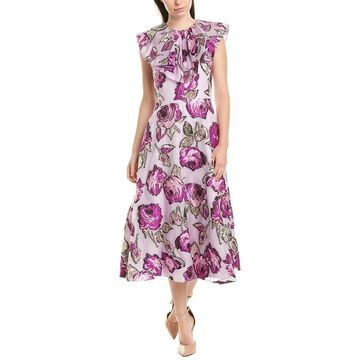 Lela Rose Midi Dress