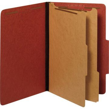 Pendaflex 2-divider Recycled Classification Folders - Legal - 8 1/2