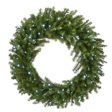 National Tree Company 36-in. Light-Up Norwood Fir Artificial Christmas Wreath