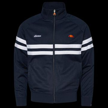 Ellesse Rimini Track Jacket - Navy Blue / White