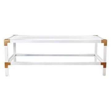 Campaign Cocktail Table, 50x24x18