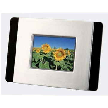 Sylvania DPF247 2.4-Inch Digital Photo Frame (Silver)