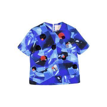 Roksanda Blue Synthetic Tops