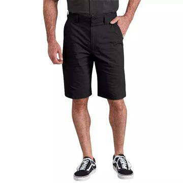 Men's Dickies 11-inch Performance Hybrid Utility Shorts, Size: 36, Black