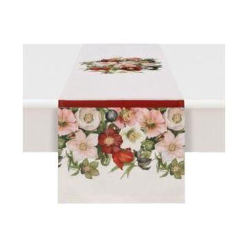 Laural Home Vintage Petals 13x90 Table Runner
