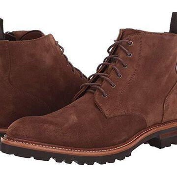 Aquatalia Leaston (Chestnut Suede) Men's Shoes