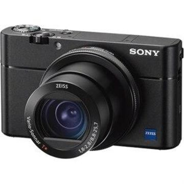 Sony - Cyber-shot DSC-RX100 V 20.1-Megapixel Digital Camera - Black DSCRX100M5A/B