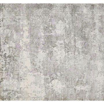 Elbrus Rug - Ivory/Gray - Solo Rugs - 5'x8' - Ivory, Gray, Beige