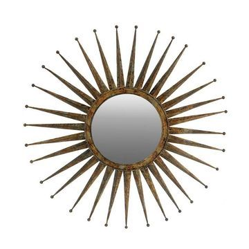 Large Gemma Flare Mirror - A&B Home