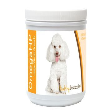 840235117964 Toy Poodle Omega HP Fatty Acid Skin & Coat Support Soft Chews, 90 Count
