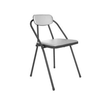 COSCO Stylaire Vinyl Padded Folding Chair (4-Pack)