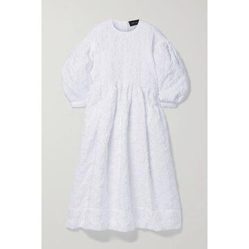 SIMONE ROCHA - Cloque Midi Dress - White