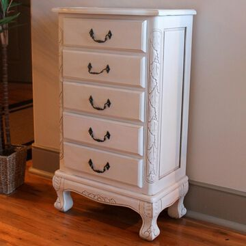 International Caravan Windsor Jewelry Armoire