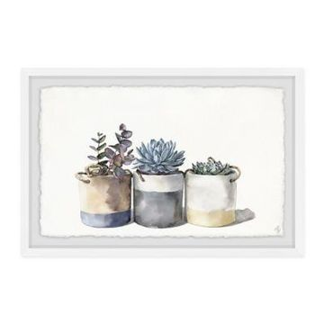 Marmont Hill Granny's Cacti 30-Inch x 20-Inch Framed Wall Art