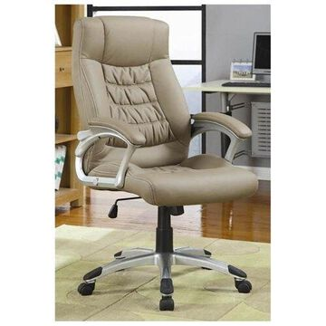 Contemporary Upholstered Executive Chair by Coaster
