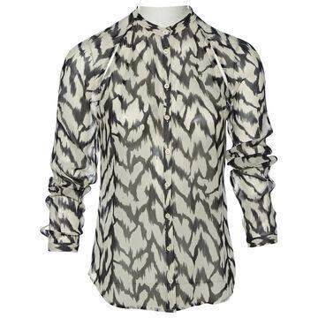 Armani Exchange White Polyester Tops