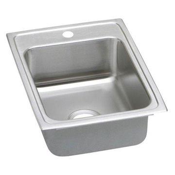 Elkay LR17221 Gourmet Stainless Steel Single Bowl Sink