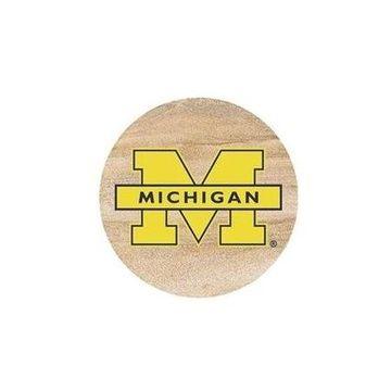 Thirstystone Drink Coaster Set, University of Michigan