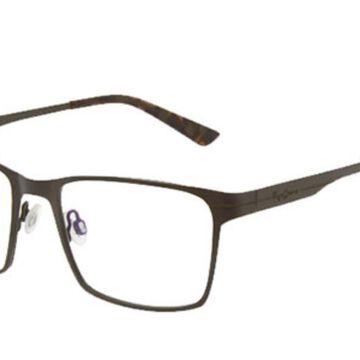 Pepe Jeans PJ1256 C2 Men's Glasses Brown Size 53 - Free Lenses - HSA/FSA Insurance - Blue Light Block Available