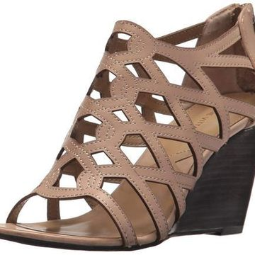 Adrienne Vittadini Womens Alby Open Toe Casual Strappy Sandals