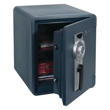 First Alert .94 Cubic-Ft Waterproof Fire Safe With Combination Lock