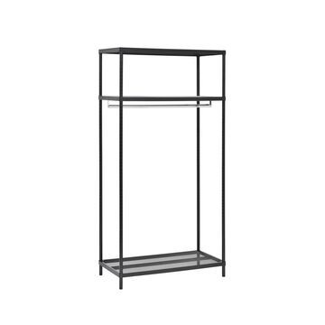 3-Shelf Steel Garment Rack