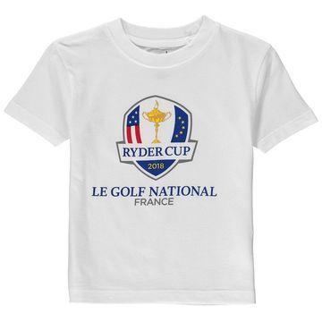 2018 Ryder Cup Garb Toddler Toni T-Shirt White