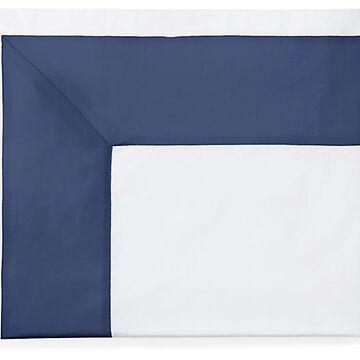 Casida Flat Sheet - SFERRA - Full/queen - Blue