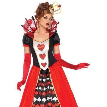 Leg Avenue Women's Wonderland Queen of Hearts Halloween Costume
