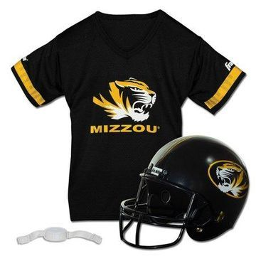 Franklin Sports NCAA Missouri Tigers Helmet Jersey Set